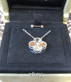 Van Cleef & Arpels 2020 Holiday Limited Necklace white gold diamond Very Rare