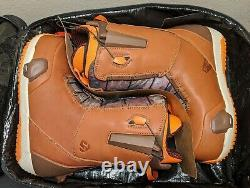 Very Limited Rare Burton x Mine77 Full Grain Leather Step On Boots Size 11