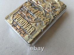Very Rare 1996 Limited Edition Nato Kfor Zippo Lighter Hard Rock Cafe Vukovar