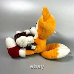 Very Rare 1996 Sonic the Hedgehog Basket Tails Plush doll SEGA 7 limited