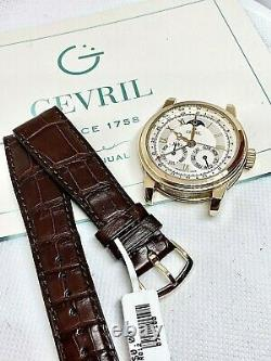 Very Rare Gevril R012 - Solid 18k Gold 1 Of 100 Limited 40mm