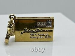 Very Rare Juicy Couture Limited Edition Love Letter Charm