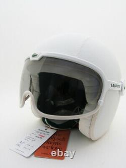 Very Rare LACOSTE Lab Motorcycle Helmet Collectors GPA Vintage Limited 1/500