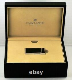Very Rare Limited Edition Caran D Ache Carbon Fiber Limited Edition 999 Lighter