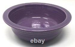 Very Rare Limited Edition New-in-Box Fiesta Ware Lilac Serving Bowl 40 ounce NIB