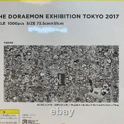 (Very Rare!) Murakami Takashi DORAEMON Jigsaw Puzzle 1000pcs Exhibition Limited