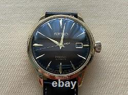 Very Rare NEW Seiko Presage Cocktail Gold Tone Limited Edition Watch SARY134
