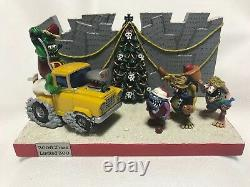 Very Rare! RAT FINK Christmas 2006 X'mas 300 Limited Figure Model Mooneyes