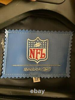 Very Rare Vintage Jeff Hamilton Super Bowl Leather Jacket Limited XXXVIII
