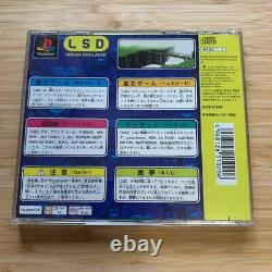Very rare PS1 LSD Dream Emulator First limited edition complete from Japan