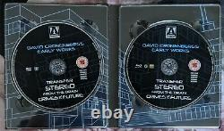 Videodrome Limited Edition Arrow Video Boxset 4 Disc Blu Ray Art Book Very Rare