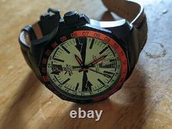 Vostok Europe Very Rare Radio Room Limited Edition Full Lume Dial GMT Automatic