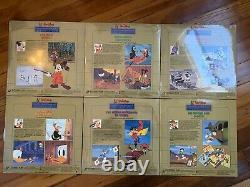 Walt Disney Limited Gold Edition 2 Cartoon Classics Lot of 6 Brand New Very Rare