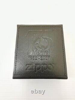 ZIPPO SWAROVSKI 75th ANNIVERSARY LIMITED EDITION LIGHTER 2007 VERY RARE BNIB