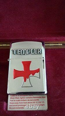 Zippo-TEMPLER-Limited 145/150 for Greece. Very RARE