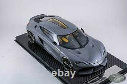 1/18 Frontiart Koenigsegg Gemera Iron Gray Limited Très Rare