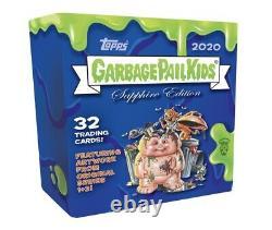 2020 Topps Garbage Pail Kids Sapphire Edition Box Gpk Très Limité! Rare Et Nouveau