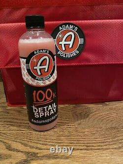 Adams Polishes Limited 100k Detail Spray Seulement 100made Très Rare