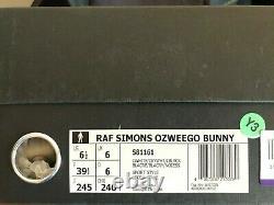 Adidas Ozweego Bunny Raf Simons Crème Us 6,5 / Ue 39 1/3 Très Rare Et Limitée