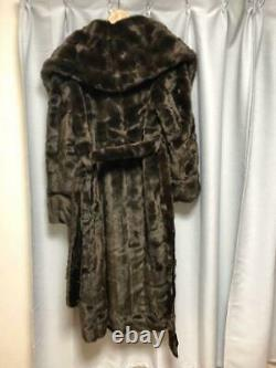 Article Vintage Très Rare Jean Paul Gaultier Fur Coat Limited Shipping From Japan