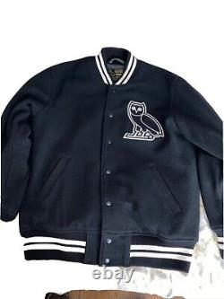 Authentic Ovo Octobers Very Own Varsity Jacket Drake Limited Super Rare XL
