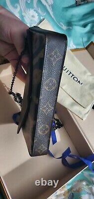 Authentique Louis Vuitton Wild Animal Leopard Felicie Avec Inserts Très Rare Limited