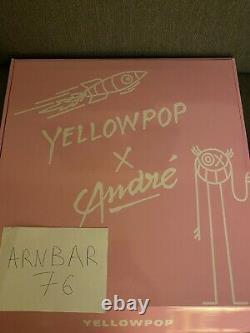Baron Andre Saraiva X Yellowpop Neon Led Limited Edition Lampe 80/100 Très Rare