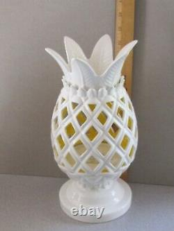Bath And Body Works Limited Edition Blanc Pineapple Luminaire Très Rare & Htf