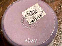 Bleu! Le Creuset Windsor Pot Limited Blue Bell Purple Color Unused Cute