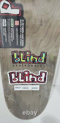 Blind Og Reaper Skateboard Deck Tj Rogers Gold Edition Limitée Très Rare Htf