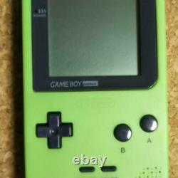 Brillant Game Boy Pocket Vert Émeraude Imagineer Limitée Du Japon Très Rare