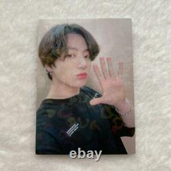 Bts Jungkook Japan Fc Suite Limited Photo Card Très Rare