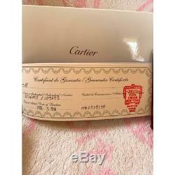 Cartier Fountain Pen Limitée À Seulement 4 Au Japon Très Rare Freeship