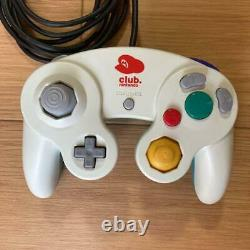 Club Nintendo Membres Limited Mario Gamecube Controller White Very Rare Used Jp