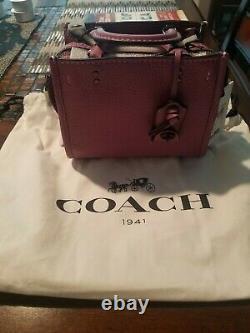 Coach Rogue 17 Mini Purse Très Rare Couleur Primrose Nouveau Avec Tags Mint