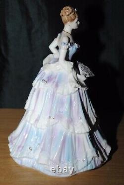 Coalport La Magie De La Vieille Vienne Figurine Edition Limitée Très Rare