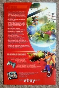 Crash Bandicoot Warped Ps1 Limited Edition Très Rare