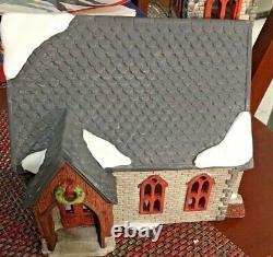 Département 56 Dickens Village Eglise Norman Très Rare. Limitée # 2936/3500