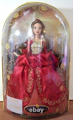 Disney Store Deluxe Beauty And The Beast Belle Doll Limited Edition Très Rare