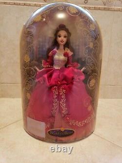 Disney Store Deluxe Beauty Et La Bête Belle Belle Doll Limited Edition Très Rare