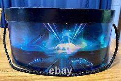 Disney Tron Legacy Illuminer Mickey Ears Hat In Box Limited 1000 Très Rare