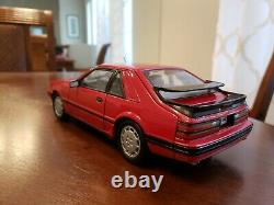 Edition Limitée Très Rare 1986 Ford Mustang Svo Welly 1/18