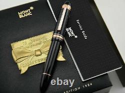 Etanche Meisterstück 149 Or Rose 75 Ann Limited Edition Fountain Pen
