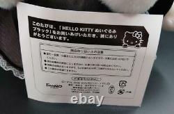 F/s Hello Kitty Poupée En Peluche Noir Gothique Lolita Limited 711 Très Rare