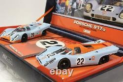 Fly Team 03 Porsche 917k Édition Limitée Set New 1/32 Slot Cars Très Rare