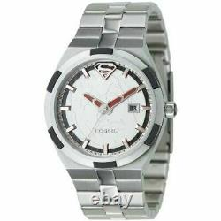 Fossil Superman Watch Urban Red Ll1036 Limited Edition Très Rare! #942/3000