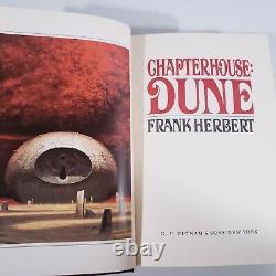 Frank Herbert Chapitrehouse Dune Signé Numéroté Limitée Première Édition Très Rare