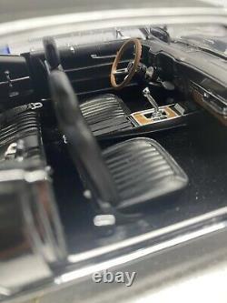 Franklin Mint 1/24 Échelle 1969 Camaro Mason Ss 396 Très Limitée À 500 Rare