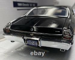 Franklin Mint 1/24 Échelle Chevelle Ss 396 Très Limitée À 500 Rare Rare