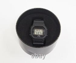 G-shock Stussy Collaboration Dw-5600 2014 Japon Limitée Watch Black Très Rare